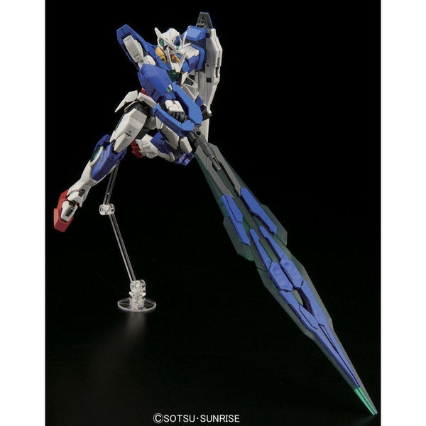 Bandai 1/144 RG 00 Qan[T] Celestial Being Mobile suit GNT-0000 action pose 3