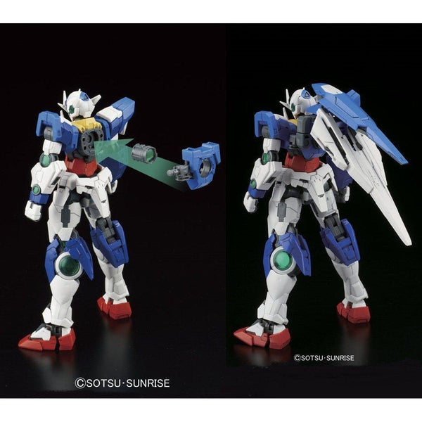 Bandai 1/144 RG 00 Qan[T] Celestial Being Mobile suit GNT-0000 connection to back of shield