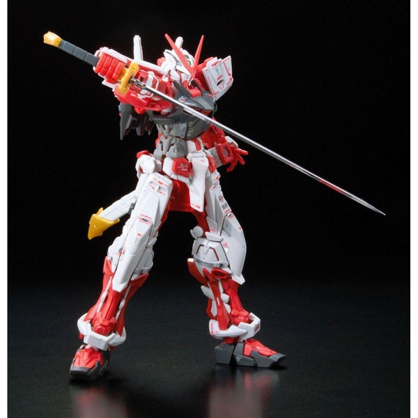 Bandai 1/144 RG Gundam Astray Red Frame Lowe Guele's Use Mobile Suit MBF-P02 action pose 1