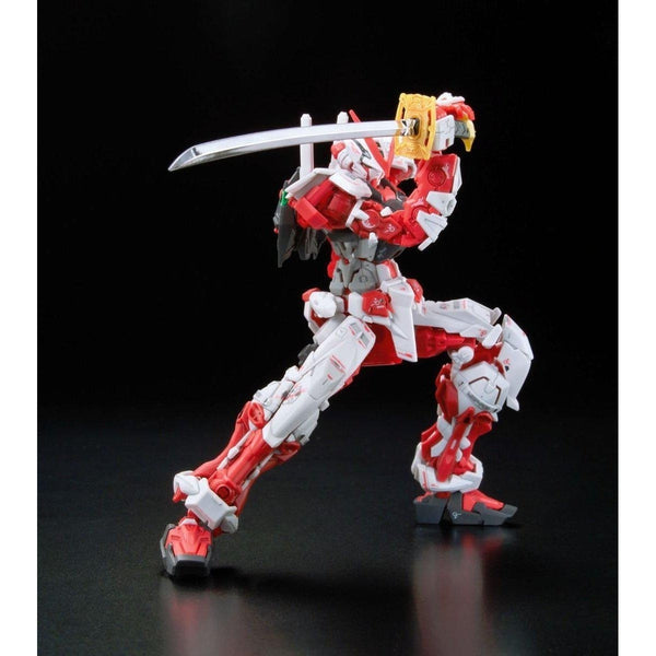 Bandai 1/144 RG Gundam Astray Red Frame Lowe Guele's Use Mobile Suit MBF-P02 action pose 3