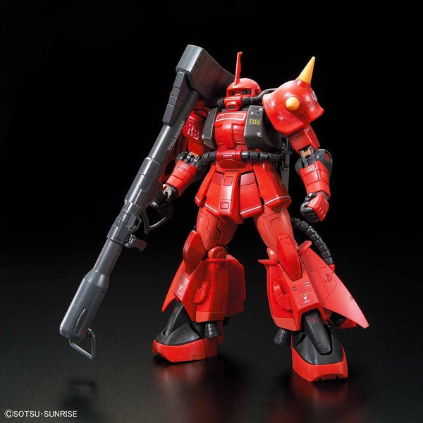 Bandai 1/144 RG MS-06R-2 Johnny Ridden's Zaku II front on pose