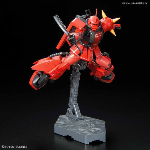 Bandai 1/144 RG MS-06R-2 Johnny Ridden's Zaku II with heat hawk