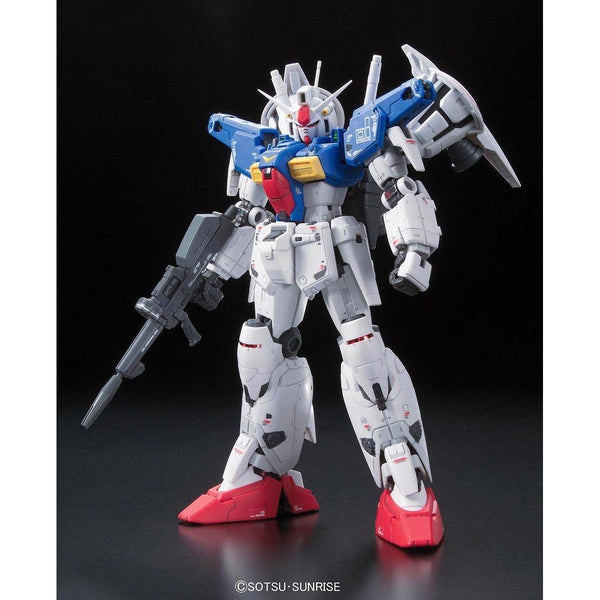 Bandai 1/144 RG RX-78 GP01FB Gundam Full Burnern front on pose