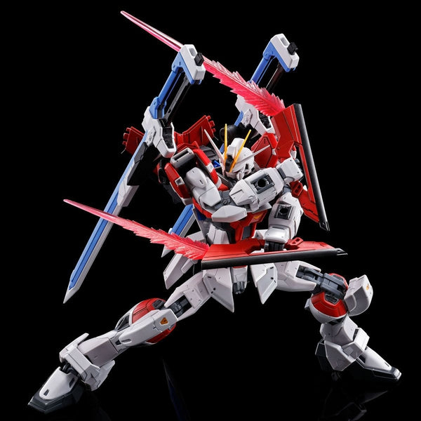 P-Bandai RG 1/144 Sword Impulse Gundam action pose 3