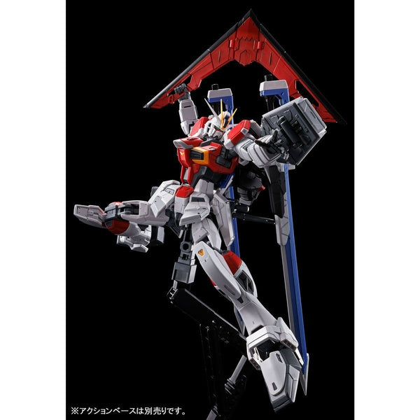 P-Bandai RG 1/144 Sword Impulse Gundam action pose 4