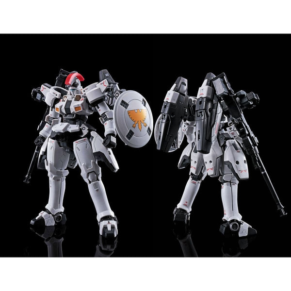 P-Bandai RG 1/144 Tallgeese TV Colours Ver front on view & rear view.