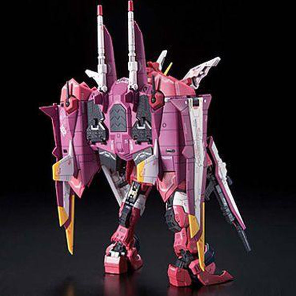 Bandai 1/144 RG Justice Gundam Z.A.F.T. Mobile Suit ZGMF-X09A rear view