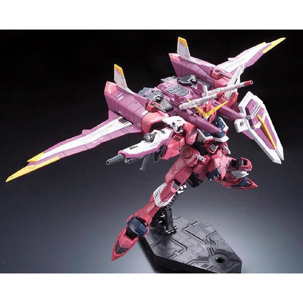 Bandai 1/144 RG Justice Gundam Z.A.F.T. Mobile Suit ZGMF-X09A action pose fantum oo