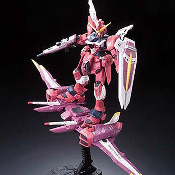 Bandai 1/144 RG Justice Gundam Z.A.F.T. Mobile Suit ZGMF-X09A action pose 3