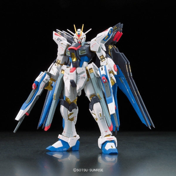 Bandai 1/144 RG Strike Freedom Gundam Z.A.F.T. Mobile Suit ZGMF-X20A front view