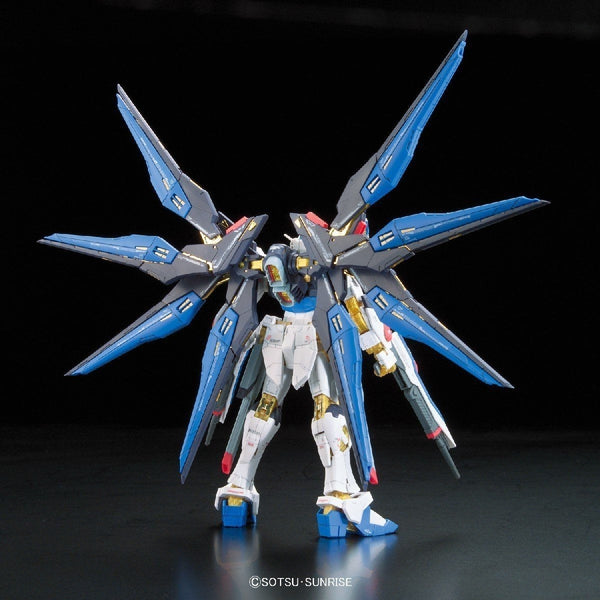 Bandai 1/144 RG Strike Freedom Gundam Z.A.F.T. Mobile Suit ZGMF-X20Arear view