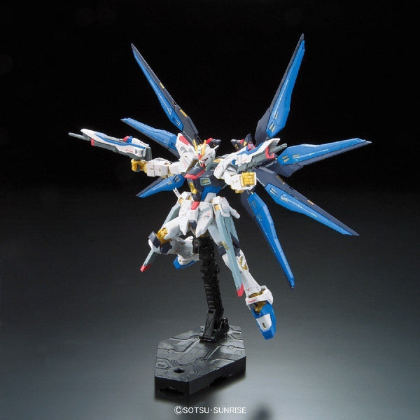 Bandai 1/144 RG Strike Freedom Gundam Z.A.F.T. Mobile Suit ZGMF-X20A action pose
