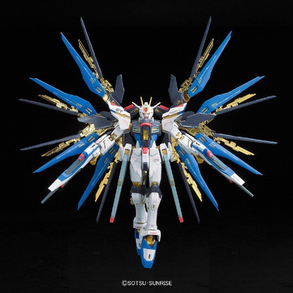 Bandai 1/144 RG Strike Freedom Gundam Z.A.F.T. Mobile Suit ZGMF-X20A wings spread
