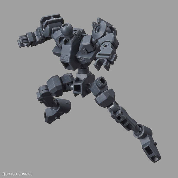 Bandai SD Cross Silhouette Frame [Gray] action pose