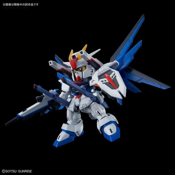 Bandai SD Gundam Cross Silhouette Freedom Gundam with accessories