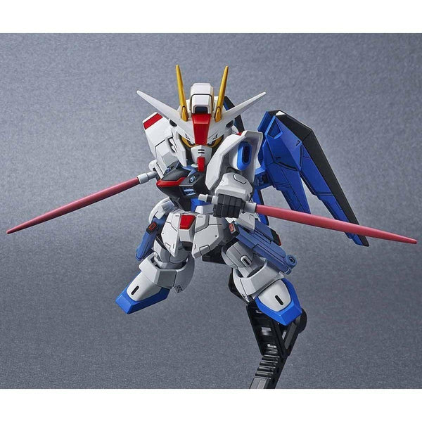 Bandai SD Gundam Cross Silhouette Freedom Gundam with beam sables