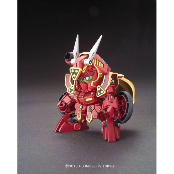 Bandai SDBF Kurenai Musha Red Warrior Amazing front on