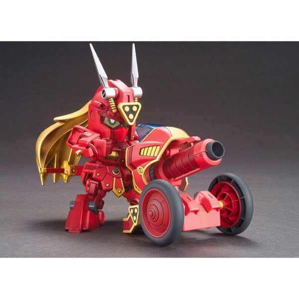 Bandai SDBF Kurenai Musha Red Warrior Amazing with musha cross cannon