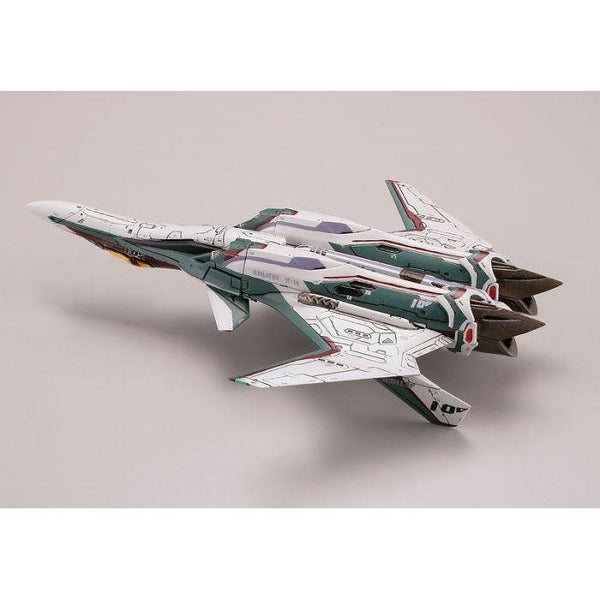 TomyTec 1/144 VF-31S Siefried Fighter Mode. upside down detail