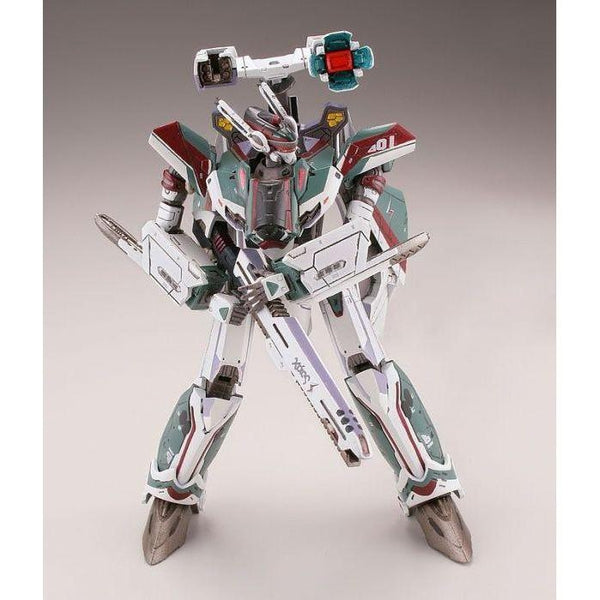 TomyTec 1/144 VF-31S Siefried Battroid Mode. action pose 1
