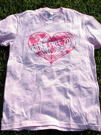 Pink Drone Free Zone Tee