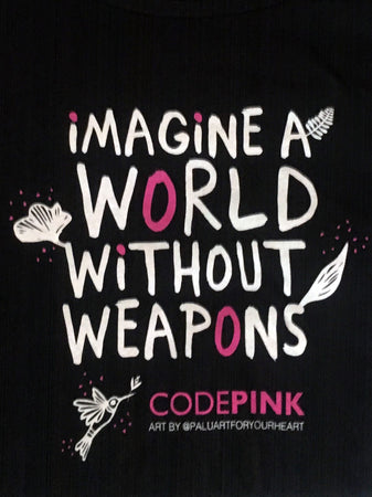 Imagine a World Without Weapons T-Shirt