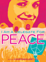 I Am a Delegate for Peace Poster