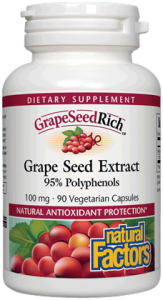GrapeSeedRich® Grape Seed Extract 100 mg