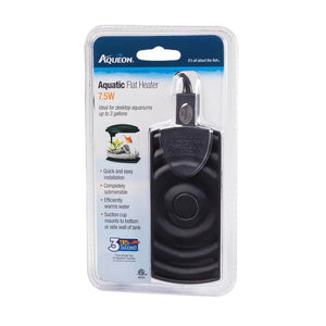 Aqueon Aquatic Flat Heater 7.5 Watts - Allans Pet Center