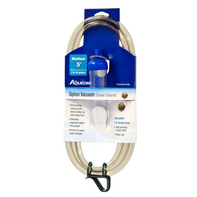 Aqueon Siphon Vacuum Gravel Cleaner Medium 5in - Allans Pet Center
