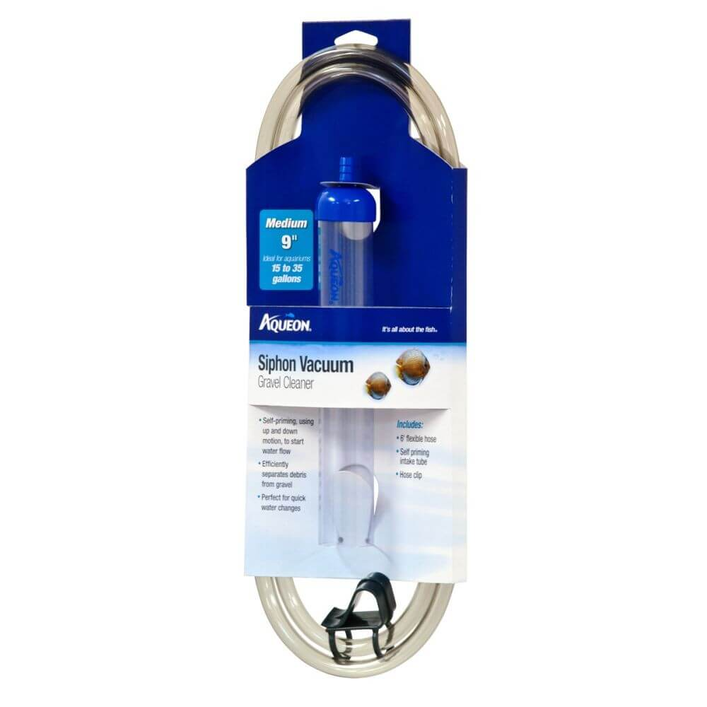 Aqueon Siphon Vacuum Gravel Clearer Medium 9in - Allans Pet Center