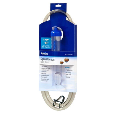 Aqueon Siphon Vacuum Gravel Cleaner Large 10in - Allans Pet Center