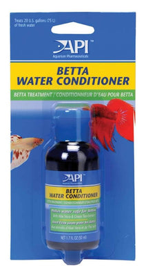 API Betta Fish Water Conditioner Carded 1.7oz - Allans Pet Center