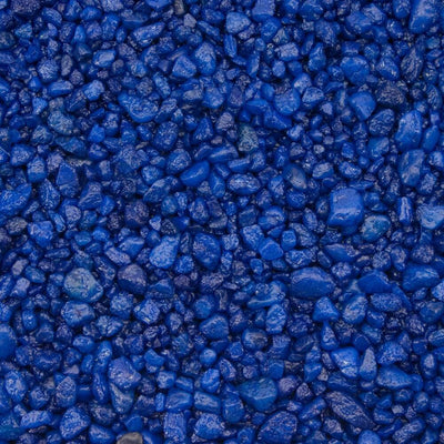 Estes Spectrastone Special Blue Aquarium Gravel 5lb - Allans Pet Center