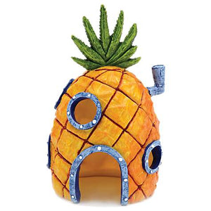 Sponge-Bob Pineapple House (medium) - Allans Aquarium And Pet Center
