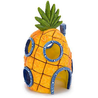 Sponge-Bob Pineapple House (large) - Allans Aquarium And Pet Center