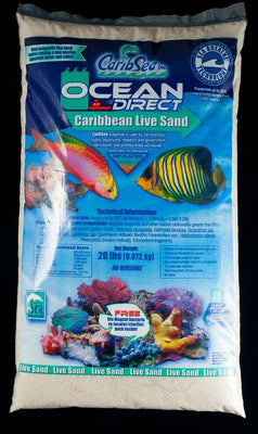 CaribSea Ocean Direct Live Sand Original 20lb - Allans Pet Center