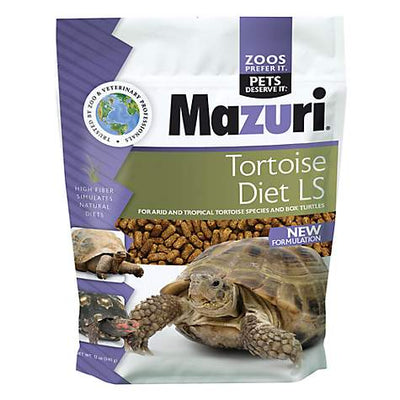Mazuri Tortoise Diet LS 12oz - Allans Pet Center