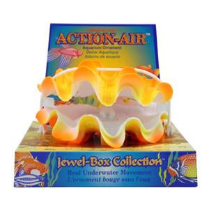 Action-Air air powered aquarium ornament (Giant Clam) - Allans Pet Center