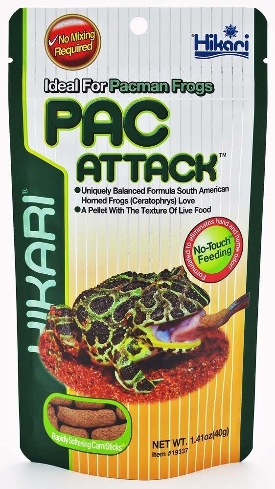 Hikari Pac Attack Pacman Frog Food - Allans Pet Center