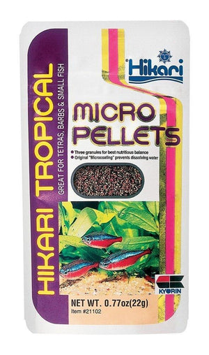 Hikari Micro Pellets - Allans Pet Center