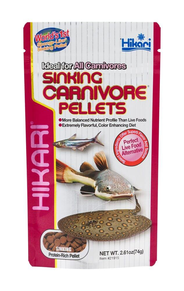 Hikari Sinking Carnivore Pellets - Allans Pet Center