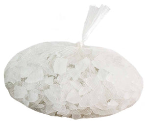 Galapagos Aquarium Sea Glass Frosted White Bag 4lb - Allans Pet Center