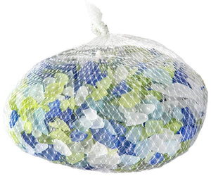 Galapagos Aquarium Sea Glass Atlantic Mix Bag 4lb - Allans Pet Center