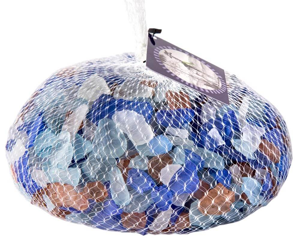 Galapagos Aquarium Sea Glass Pacific Mix Bag 4lb - Allans Pet Center