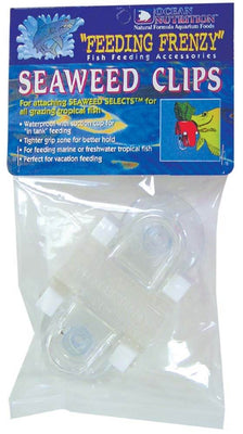 Seaweed Clips 2-pack (ocean nutrition) - Allans Aquarium And Pet Center