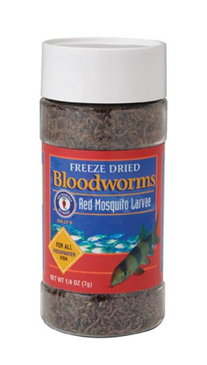 San Francisco Bay Brand Freeze Dried Bloodworms - Allans Pet Center