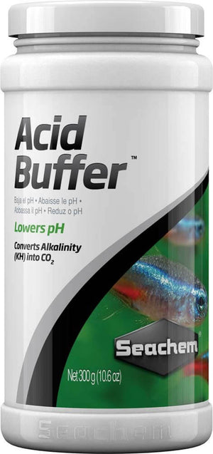 Seachem Acid Buffer 300gm/10.6oz - Allans Pet Center