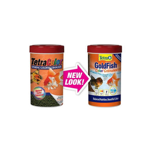 Tetra goldfish color granules 3.52oz