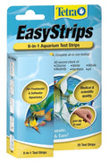 Tetra EasyStrips 6-in-1 Test Strips (25 ct) - Allans Aquarium And Pet Center